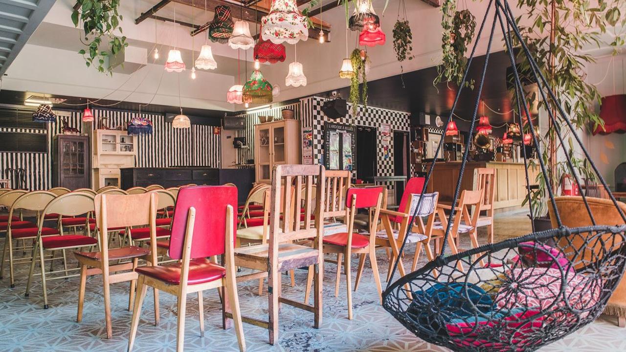 Bar à Bulles - Ambiance colorée