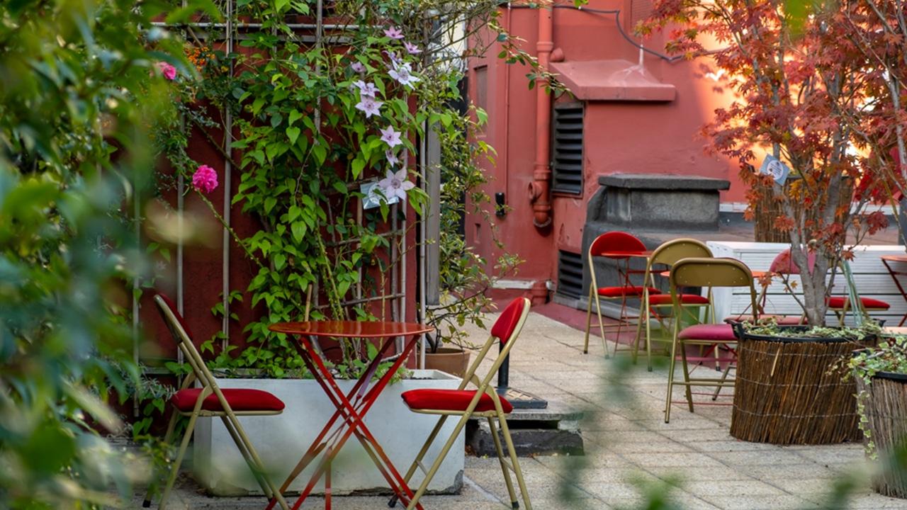 Bar à Bulles - La Terrasse intimiste
