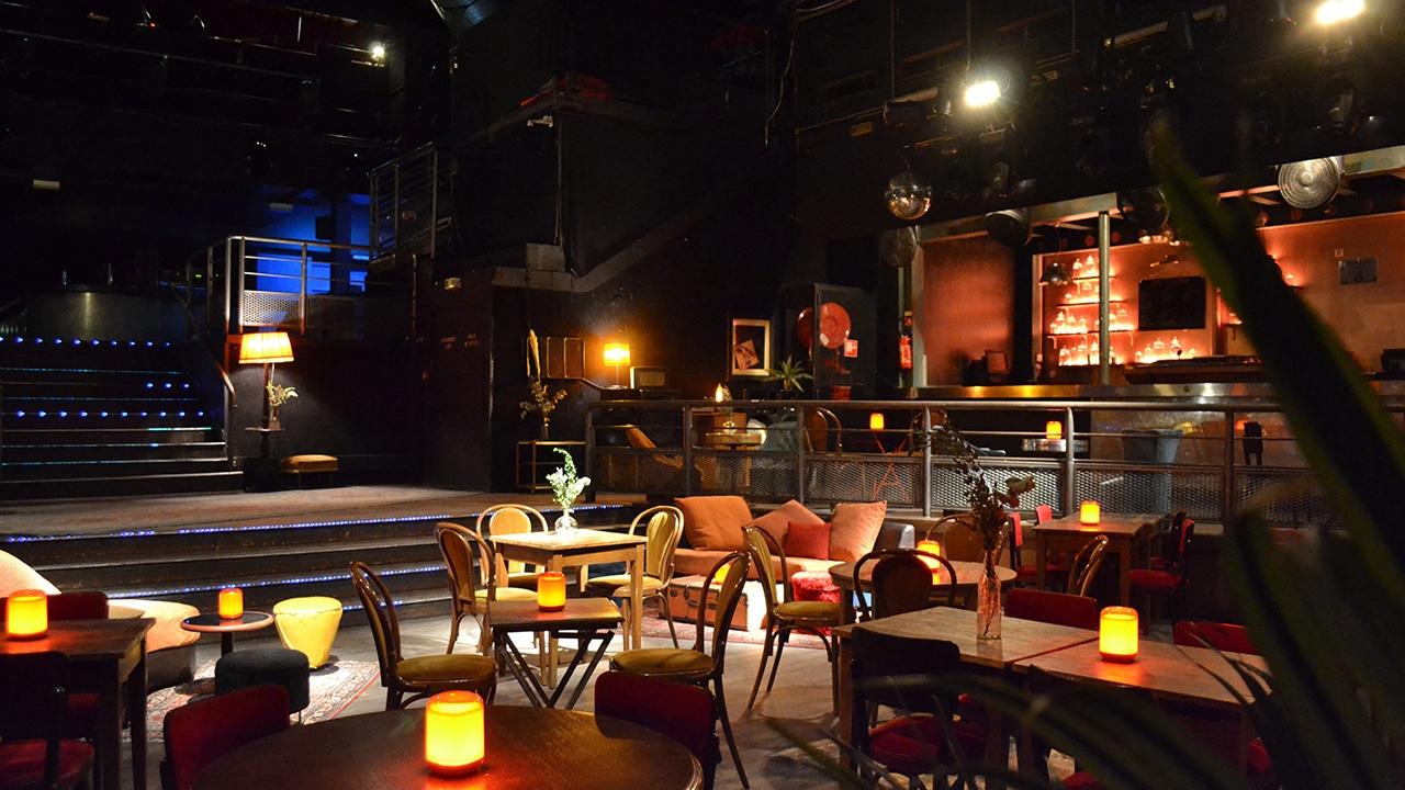 Machine du Moulin Rouge - Le Central en banquet